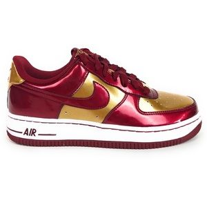 Nike Air Force 1 Low Red Iron Man Shoes 314192-601